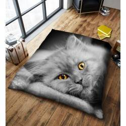 3D Kitty Cat Throw Blanket