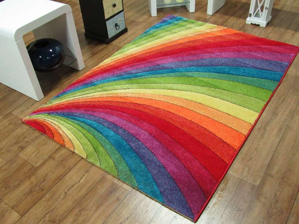 Rainbow Rug Rugs Ideas