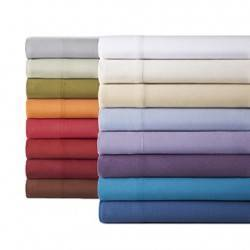 Polycotton Budget Pillowcases (Pair - Assorted Colors)